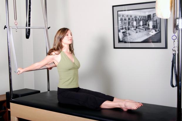 Pilates-Exercice-Posture