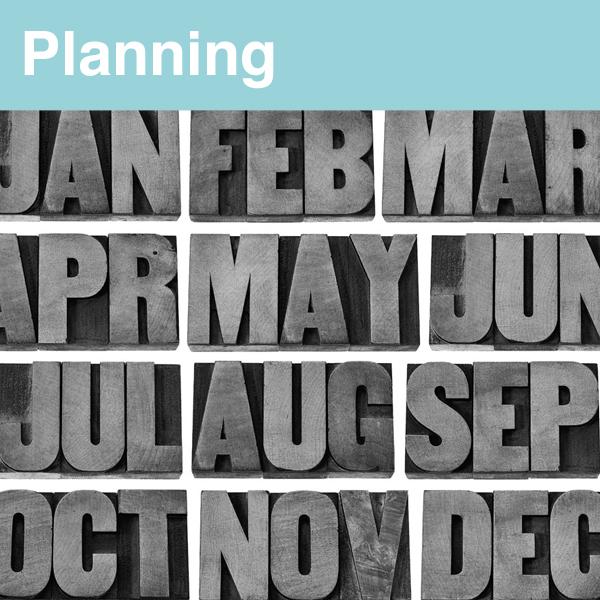 Accédez au planning