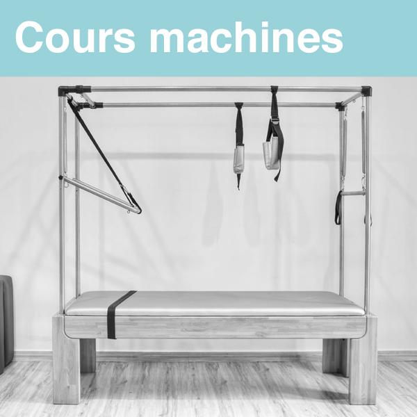 Le Pilates sur Machines